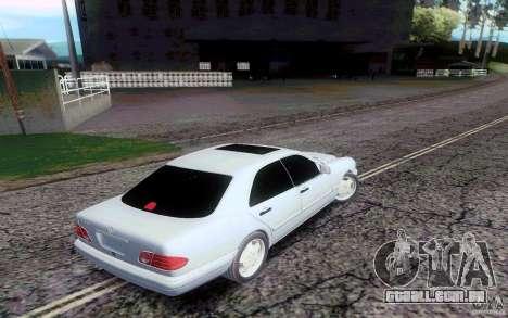 Possível Sa_RaNgE v 2.0 para GTA San Andreas segunda tela