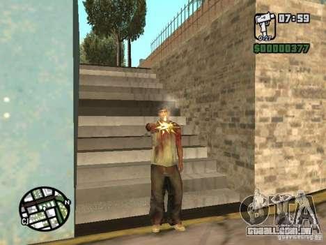 Markus young para GTA San Andreas segunda tela