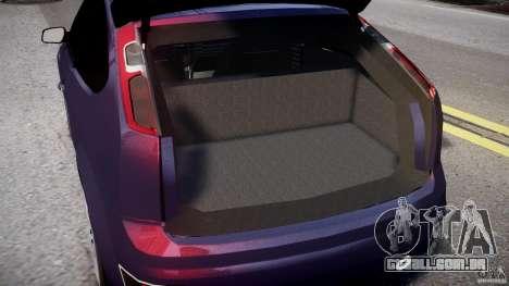 Ford Focus ST MkII 2005 para GTA 4 vista lateral