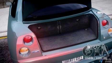 Fiat T20 Coupe para GTA 4 vista interior