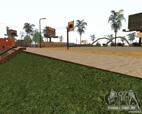 Textura da quadra de basquete para GTA San Andreas segunda tela