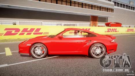 Porsche 911 Turbo V3 (final) para GTA 4 esquerda vista