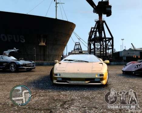Lamborghini Diablo SV 1997 EPM v.2.3 para GTA 4 vista direita