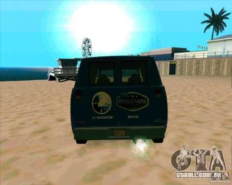 BUGSTARS Burrito from GTA IV para GTA San Andreas vista direita