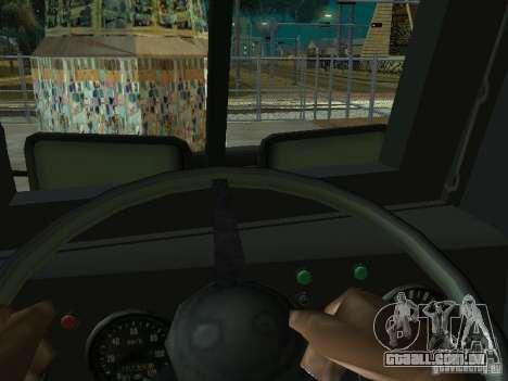 KrAZ-256b1-030 para GTA San Andreas esquerda vista