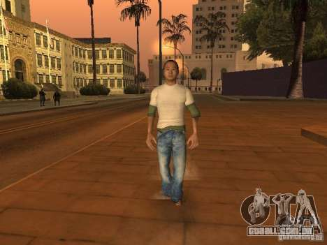 Black Stallion Peds para GTA San Andreas por diante tela