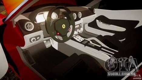 Ferrari 599 GTB para GTA 4 vista interior