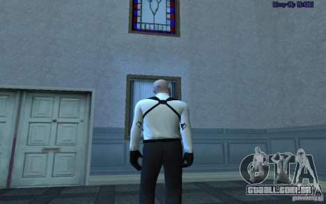 Agent 47 para GTA San Andreas por diante tela