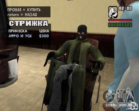 Roupas de um stalker para GTA San Andreas oitavo tela