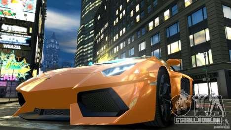 Lamborghini Aventador LP700-4 2011 EPM para GTA 4 vista superior