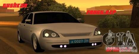 Lada Priora Light Tuning para GTA San Andreas