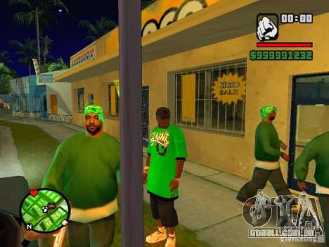 50 cent Skin para GTA San Andreas terceira tela