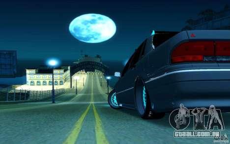 Mitsubishi Galant para GTA San Andreas vista direita