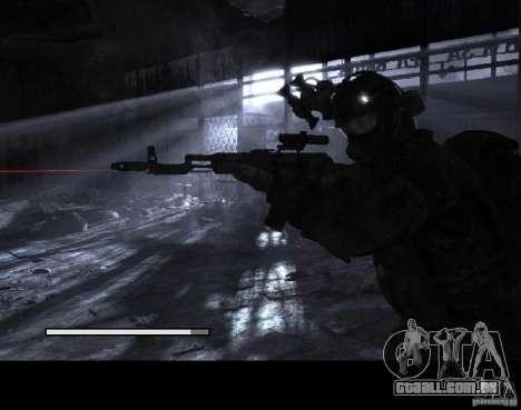 Telas de carregamento Metro 2033 para GTA San Andreas sexta tela