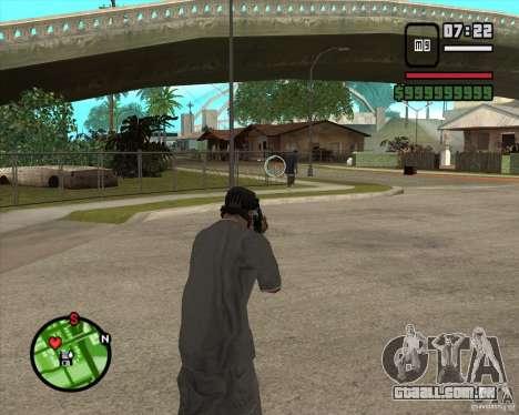 GTA IV Target v.1.0 para GTA San Andreas terceira tela