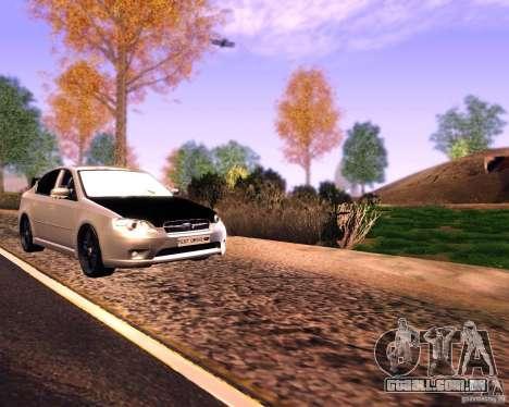 Subaru Legacy 3.0 R tuning v 2.0 para GTA San Andreas vista direita