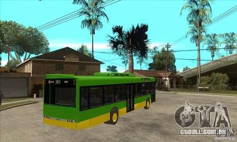 Solaris Urbino 11 para GTA San Andreas vista direita