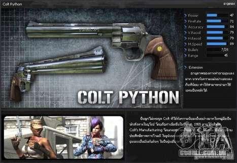 [Point Blank] Colt Python para GTA San Andreas