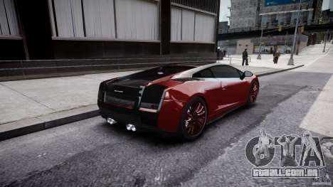 Lamborghini Gallardo Superleggera 2007 (Beta) para GTA 4 vista superior