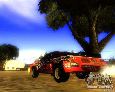 Bonecracker de FlatOut 1 para GTA San Andreas traseira esquerda vista
