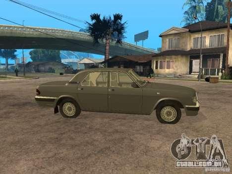 GAZ 3110 v 2 para GTA San Andreas esquerda vista