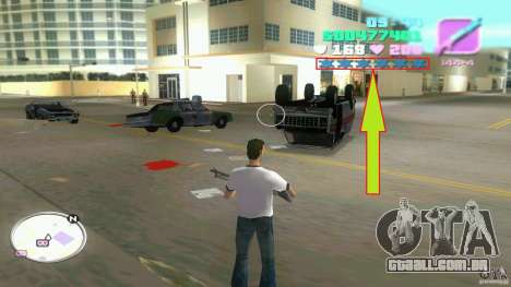 Wanted Level = 0 para GTA Vice City segunda tela