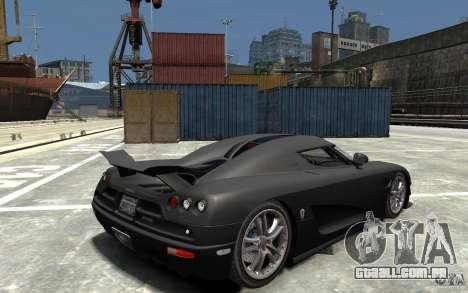 Koenigsegg CCXR Edition V1.0 para GTA 4 vista direita