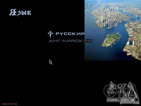 Novo menu no estilo de Nova Iorque para GTA San Andreas sexta tela