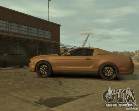 2011 Shelby GT500 Super Snake para GTA 4 esquerda vista