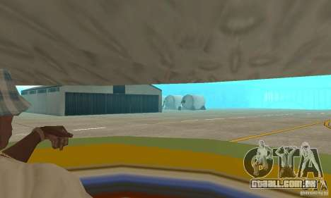 Plataforma aérea transportadora para GTA San Andreas vista interior