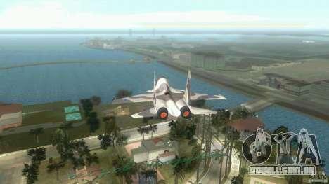 VC Air Force para GTA Vice City vista traseira esquerda