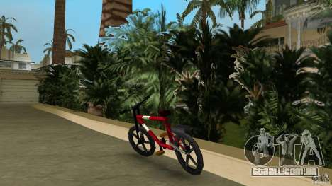 Mountainbike (Rover) para GTA Vice City vista traseira esquerda