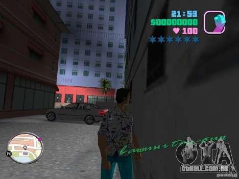 Novas skins Pak para GTA Vice City por diante tela