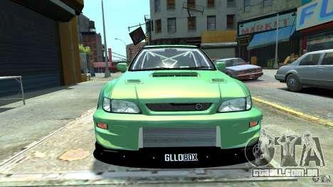 Subaru Impreza 22B STI 1999 para GTA 4 traseira esquerda vista