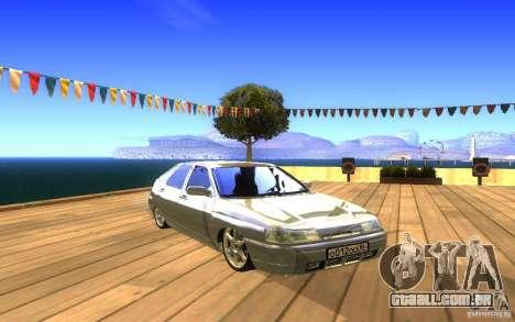 VAZ-2112 LT para GTA San Andreas vista inferior
