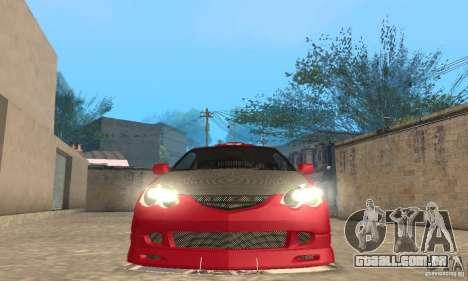 Acura RSX New para as rodas de GTA San Andreas