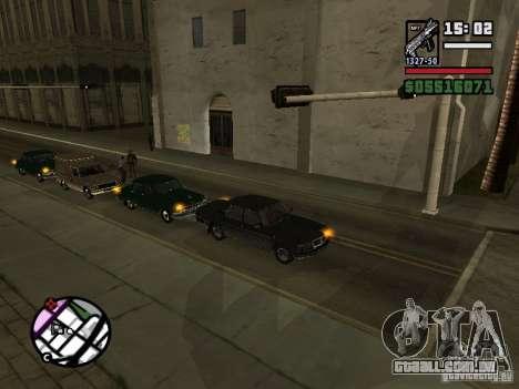 Piscas 2.1 para GTA San Andreas