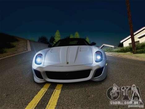 New Car Lights Effect para GTA San Andreas