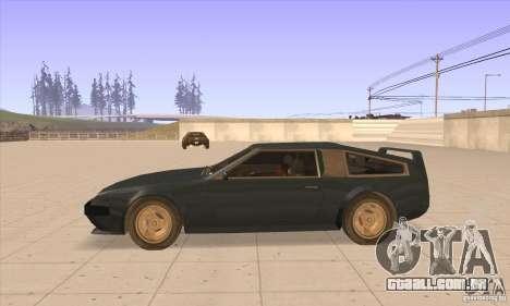 Deluxo HD para GTA San Andreas esquerda vista