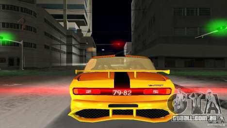 AZLK 2140 para GTA Vice City vista traseira