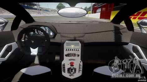 Lamborghini Aventador LP700-4 2011 [EPM] para GTA 4 vista de volta