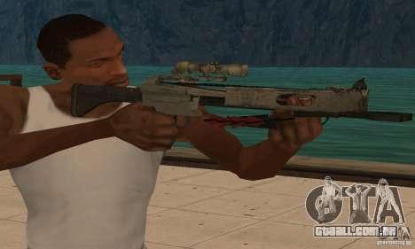 Besta de Black Ops para GTA San Andreas terceira tela