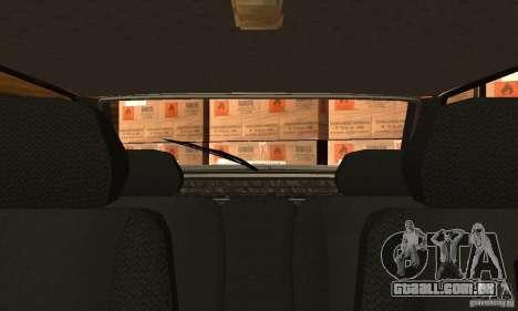 2113 Vaz Suite v. 1.0 para GTA San Andreas vista interior