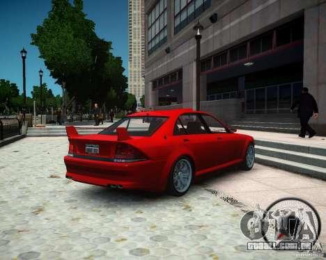 Schafter RS para GTA 4 esquerda vista