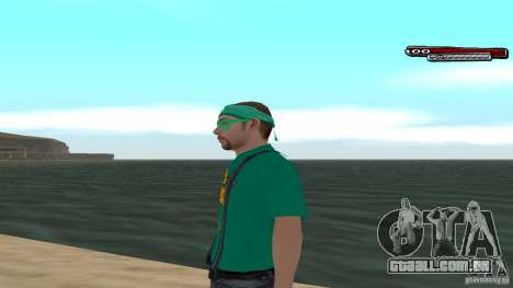 Skin Pack The Rifa Gang HD para GTA San Andreas segunda tela