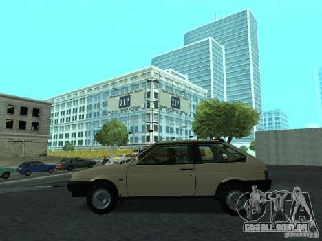 VAZ 2108 CR v. 2 para GTA San Andreas esquerda vista