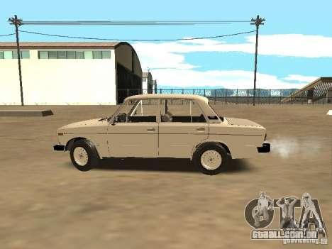 VAZ 21063 para GTA San Andreas esquerda vista