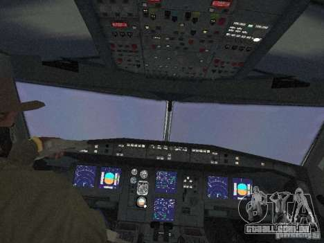 Airbus A340-600 Virgin Atlantic para vista lateral GTA San Andreas