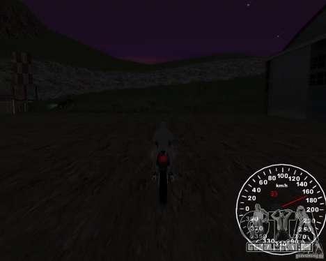 Velocímetro 2.0 final para GTA San Andreas terceira tela