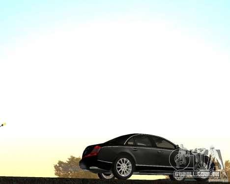 Maybach 57S para GTA San Andreas esquerda vista